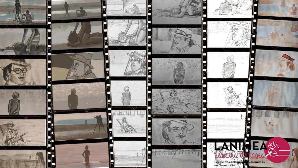 Lanimea-STORYBOARD-Pele-mele-croquis-ciné-Mort-à-Venise-Lanimea